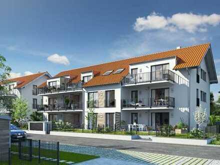 Dachgeschoss-Wohntraum mit werthaltiger Qualität und moderner Energieeffizienz im Süden von München