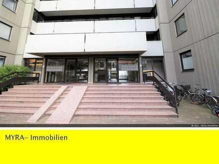 **1 Zimmer - 30 m² - mit TG- Garage- Balkon- 303 EUR Kaltmiete - Karlsruhe-Kaiserallee **