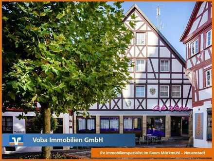 Möckmühl - Zweifamilienhaus mit Gewerbeeinheit in der Innenstadt