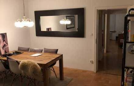 TEMPORARY RENT FOR 3,5 MONTHS (Jul-Nov.): Möblierte 55qm 2-Zimmer-Wohnung in top Maxvorstadt Lage