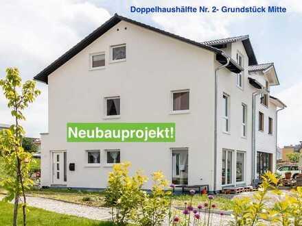 Neubauprojekt: Doppelhaushälfte inkl. Grundstück in guter, familienfreundlicher Lage!