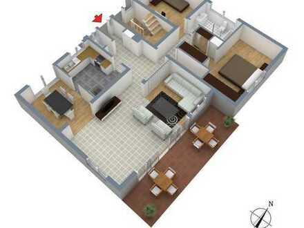 Büro und Wohnen. Herz, was willst Du mehr als Garten, Kamin, neue Badezimmer, viel Platz...