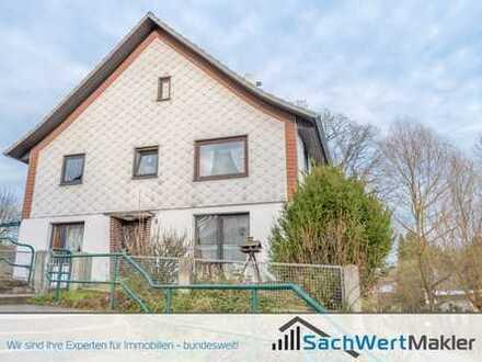 SachWertMakler - Familienfreundliches Zweifamilienhaus bei Coppenbrügge