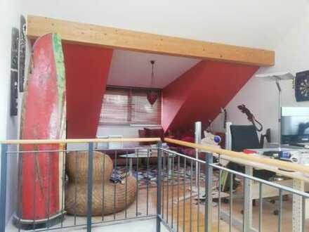 Schönes Dachstudio in Bensheim (Bilder zeigen alten Stand) Wände werden derzeit eingezogen (Klimaanl