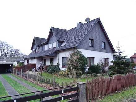 immo-schramm.de: Großes Doppelhaus und Gewerbehalle mit Bürotrakt in 27619 Schiffdorf-Geestenseth