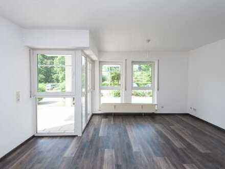 Helle 2 Zimmerwohnung EG mit Balkon ruhig zentale Lage Weißenhorn
