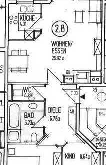 Lage, Lage, Lage! Gepflegte 3-Zimmer-Wohnungen mit Balkon in Dietzenbach