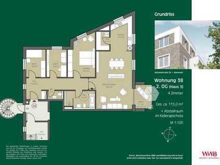 4- Zimmer Wohnung zwischen der List und der Nordstadt!