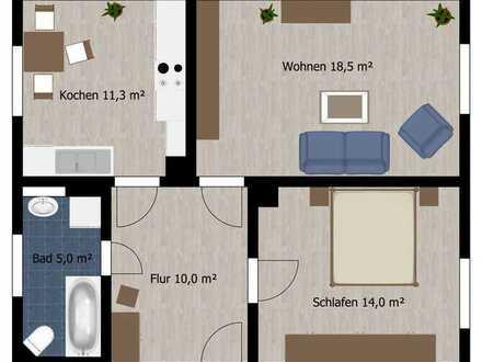 2-Raum Wohnung in ruhiger Lage