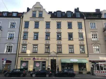 Jugendstilhaus in Schwabing: Traumhafte 2.-Zi-Whg. *provisionsfrei*