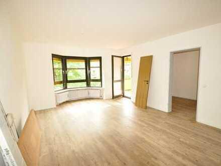 Wohnen an der Lech-Promenade: Sonnige 3 ZKB, neu renoviert, Balkon, 2 Stellpl. – direkt am Flußufer