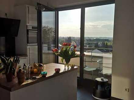 Traumhafte 4-Zimmer-Dachgeschosswohnung mit Balkon und atemberaubendem Blick in Langenau