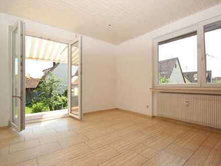 Sonnige Wohnung in Tübingen-Hirschau mit Südbalkon und Carport