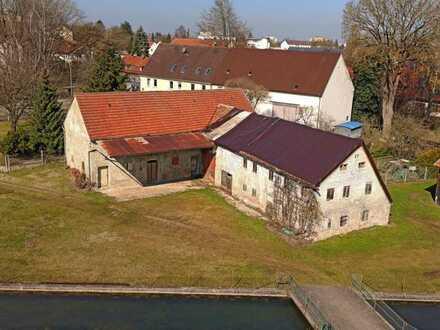 traumhafter denkmalgeschützter Stadt- Bauernhof in Augsburg-Haunstetten