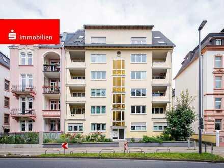 Top-Zustand! Schicke Dachgeschoßwohnung mit Skylineblick in Frankfurt-Nordend