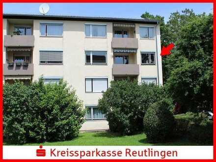 Gut geschnittene 4-Zimmer-ETW  mit Süd-Balkon und Garage in Pfullingen