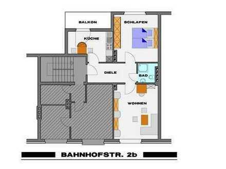 Zweizimmerwohnung mit neuem Bad in Viersener Innenstadt