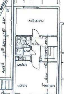 Zweizimmer-Wohnung mit Balkon in Bad Marienberg, Gehweite zum Wildpark, Zentrum u. Einkaufsmöglichk.