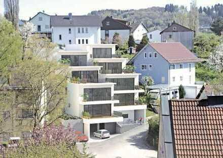 Luxuriöse zweistöckige Penthouse-Wohnung mit Blick auf ganz Deggendorf