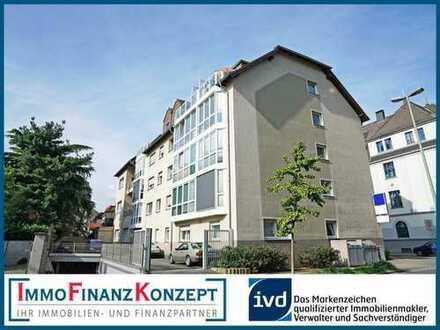 Barrierearme Wohnung mit Wintergarten, Fahrstuhl und Tiefgarage zwischen Stadtgarten und City