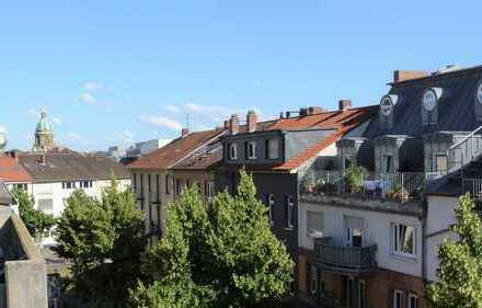 Die Lage ist es, über den Dächern von Mannheim.
