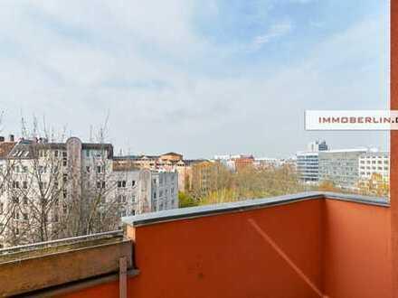 IMMOBERLIN: Wasserblick! Wohnung mit Westbalkon im Topzustand