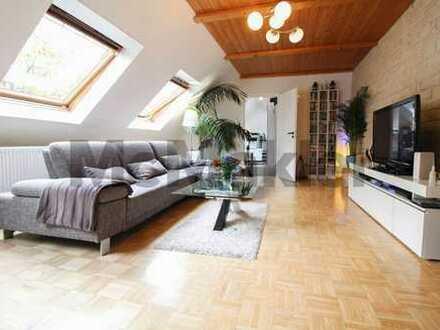 Charmante 5,5-Zimmer-Dachgeschosswohnung für Familien und Pärchen am Stadtkernrand von Essen