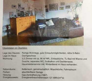 Tolle 3,5 Zimmer Wohnung mit 2 Balkonen in Renningen
