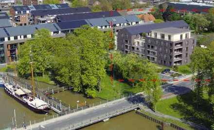 Leer: Neubau-Erdgeschoss-Eigentumswohnung in Top Lage, Nähe Altstadt und Hafen, www.deWeerdt.de