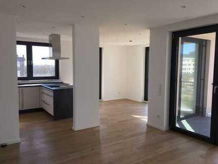 Moderne 2-Zimmer-Wohnung mit Loggia in Bielefeld - Mitte