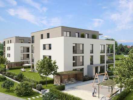 Große 4 Zimmer Attika-Wohnung im Quartier Glashütte Achern - neue AVANTUM® Wohnanlage