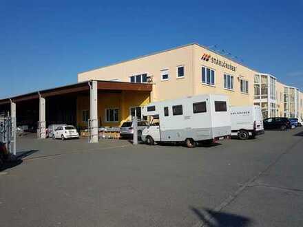 Lagerhalle mit großer Verkaufsfläche in 1A-Lage - ohne Provision!