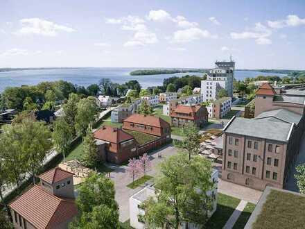 Sympathische 3-Zimmer-Wohnung mit Balkon in toller Lage von Bad Kleinen - in direkter Seenähe