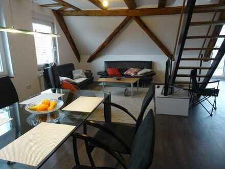 2-Zimmer Maisonette-Apartment in Hohengehren möbliert