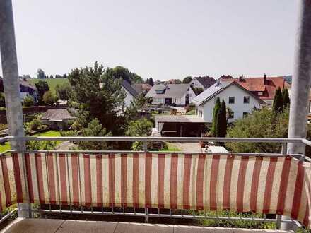 Schöne, helle 2-Zimmer-Wohnung mit Balkon und EBK in Mengen