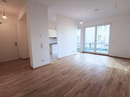 Komfortable 2-Zimmer-Wohnung im EG mit EBK und Terrasse direkt am Mauerpark!