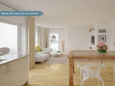 Komfortabel Wohnen mit viel Raum zum Wohlfühlen: 4-Zi.-Gartenwohnung mit Terrasse und Abstellraum
