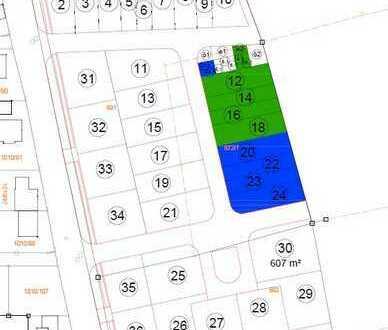 Bauplätze für Reihenhäuser in Langenzenn zu verkaufen