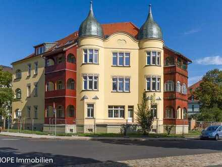 2-Raum-Eigentumswohnung im Hochparterre eines schönen Mehrfamilienhauses in Dresden-Tolkewitz