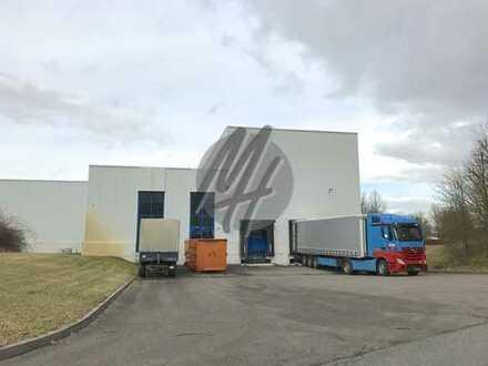 KEINE PROVISION ✓ Lager-/Produktion (2.200 m²) & optional Büro (550-1.100 m²) zu vermieten