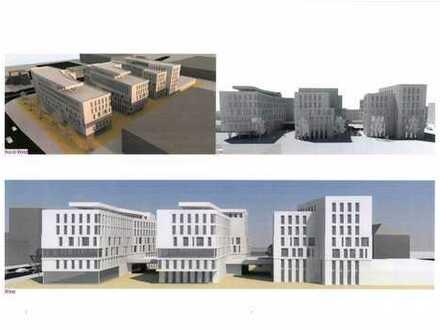 """""""Waldstraße Carree"""" Neubau-Büroflächen auf 7 Etagen - ab 09/2022 zu vermieten"""