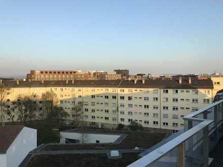 Sehr schöne 3-Zimmer Penthouse Wohnung über den Dächern von Mannheim
