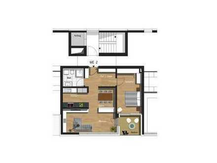2,5-Zimmer-Wohnung inkl. TG-Stellplatz