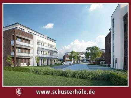 Wohnen auf den Schusterhöfen: Großzügige 2-Zimmer-Etagenwohnung mit Balkon
