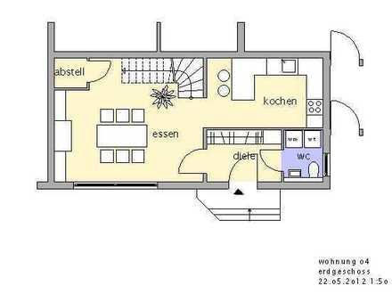 Wohnen wie im eigenem Haus - 3-Zimmer Maisonette Wohnung mit Garage