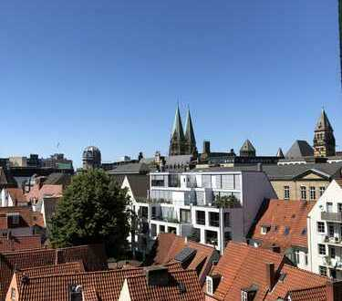 3 Zi. Wohnung mit Schnoor- und Weserblick, Balkonanbau in Planung