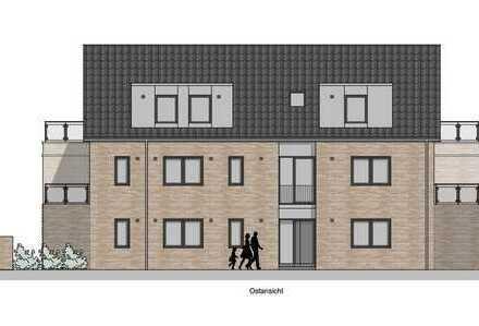 Neubau - Barrierearme 3-Zimmer-Wohnung im 1. Obergeschoss, 2 Balkone und Aufzug in Borken-Weseke
