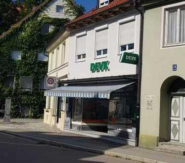 Laden oder Bürofläche mit Schaufenster in der Altstadt von Kempten