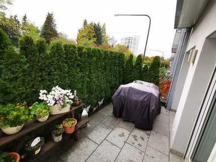 Gepflegte 3-Zimmer-Wohnung mit Süd-Terrasse in Frankfurt am Main