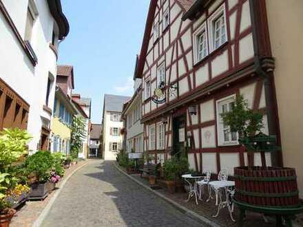 ***Gut gehendes schmuckes Weinlokal mit 2 Wohnungen in der schönen Altstadt von Höchst!***